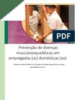 Prevenção de doenças musculoesqueléticas em empregadas (os) domésticas (os)