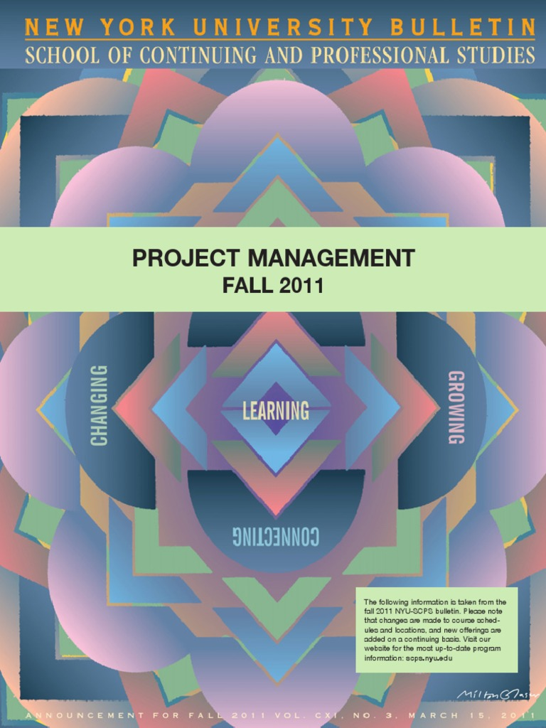 Scps Project Managementpdf Professional Certification Project