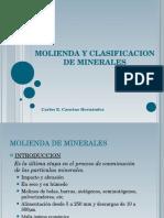 MOLIENDA     DE MINERALES.ppt