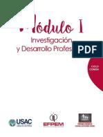 Moìdulo I Curso Investigacioìn y Desarrollo Profesional