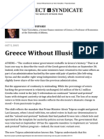 Greece Without Illusions by Yanis Varoufakis - Project Syndicate