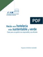 Hacia Una Hoteleria Mas Sustentable y Verde