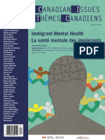 CanadianIssues Immigrant Mental Health PDF