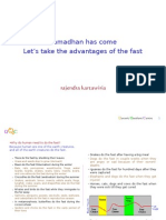The Advantages of Ramadhan