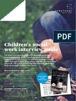Sanctuary Social Care Interview Guide Children