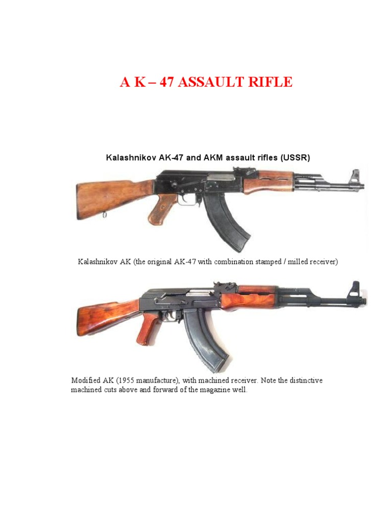 Ak 47 technical manual magazine firearms trigger firearms ccuart Images