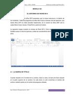 Ofimatica 02 - Entorno de Word 2013_cvl