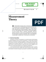 Measurement Theory - Chapter1