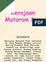 5 Kerajaan Mataram Kuno