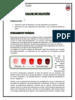 Informe de Laboratorio # 5 Fisicoquimica