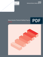 Manchester Patient Safety Framework