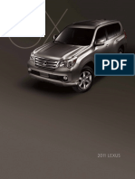 2011 Lexus GX Brochure