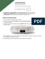 Procedimiento de Comisionamiento - Access Point Xirrus v2