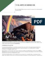 OrígenesEL ARCA DE NOÉ y el mito SUMERIO