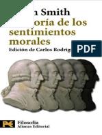 Teoria de Los Sentiminetos Morales Adam Smith