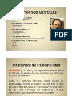 transtornos psiquiatricos