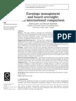 Earnings Management 2011