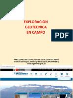 3.0 Exploracion Geotecnica de Campo