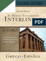 Mateo Interlineal Griego Español