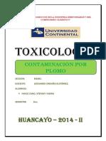 Contaminacion Por Plomo Tarea