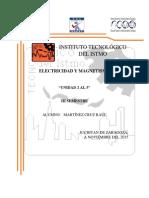 Electricidad y magnetismo unidad 2,3,4 y 5