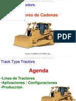Curso Tractores Oruga Cadenas Bulldozers Linea Aplicaciones Configuraciones Seleccion Hojas Trenes Rodaje Desgarradores