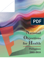 National Objectives for Health Philippines 2005-2010