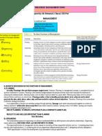 Strategic Management Topics
