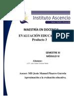 Aproximación a La Evaluación Educativa