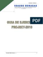 Guia de Ejercicios Project 2010 - Fundaudo 2014