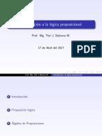 Bimer2 Proposiciones l Gicas Derecho UNSA