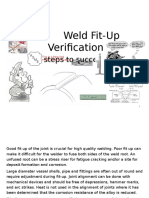 Weld Fit Up Inspection Employee Training