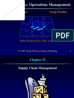 Ch 15 Supply Chain Management