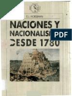 Hobsbwam Naciones Nacionalismo Desde 1780