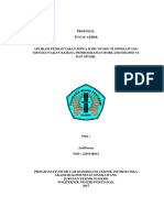 Perancangan Proposal SDN 29 SingBarat