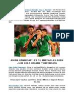 Info Prediksi Bola Meksiko vs Selandia Baru 22 Juni 2017