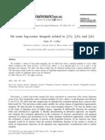 Coffey M W - On Some Log-cosine Integrals Related to Zeta(3, Zeta(4), And Zeta(6) - J. Comput. and Appl. Math. 159 (2003) 205-215