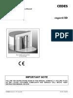 Cegard3D Operation Manual en 100713