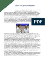 El Plebiscito en Colombia- Una Oportunidad Perdida - Atilio Borón