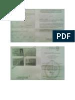 Certificado de Rentas