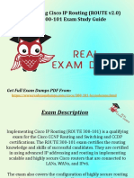 Get Valid 300-101 Exam Study Material - Cisco 300-101 Braindumps RealExamDumps