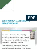 Hedonismo y Utilitarismo