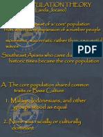 (2)Core Population Pre History