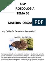 Tema 06 Materia Organica