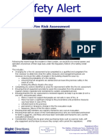 46 Right Directions Safety Alert - Fire Risk Assessment June 2017