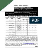 Notification SSPHPGTI Noida Non Teaching Positions