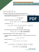 EBAU 2017 Junio Matemáticas II Soluciones