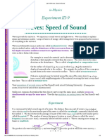 Lab III-9 Waves_ Speed of Sound