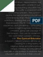 The Cynical Educator - Ansgar Allen