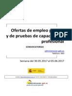 Boletin Convocatorias Empleo Junio 2017